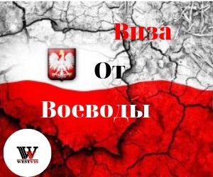 Воеводская виза, робота в Польше, робочая виза на 1 год
